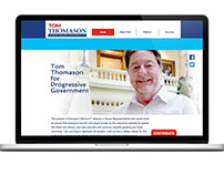 Political Campaign Website