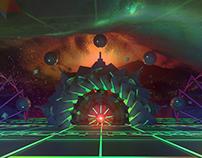 Retro-Dimension: 3DAbstract Composite