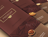 Premium Chocolate Bars NUGALI (by FAZdesign)