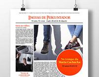 Wall Newspaper - 30 Anos ESAD.CR