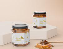 Bee Happy Honey Packaging