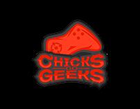 ChicksGoGeeks | Logo