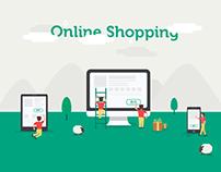 Illustration for E-commerce