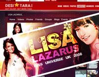 Desitara Celebrity Profile Page