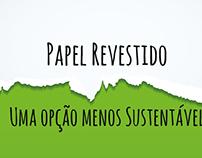 Papel Revestido: Uma Opção Menos Sustentável