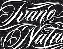 Custom Lettering Logos 2012 pt.2