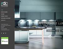 RDC Kitchens Logo & Website