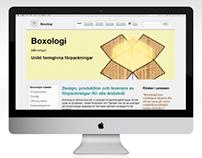 Boxologi (fictitious nordic trademark & web concept)