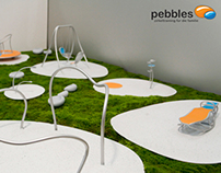 Pebbles. fitness playground for families