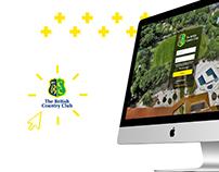 Campanha de Lançamento do Novo Site do Country Club