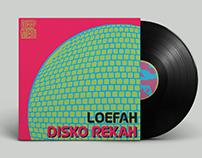 DISKO REKAH vinyl cover