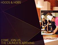 USHA HOODS & HOBS - Website (Concept)