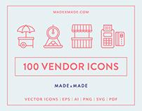 Line Icons – Vendor