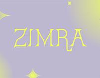 ZIMRA // Display Typeface / 2020