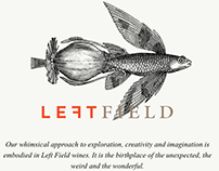 Left Field Wines animated illustrations by Steven Noble