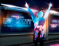 Let´s Party Flyer Template