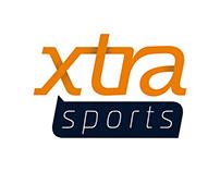 """""""Xtra SPORTS"""" Logo"""