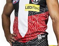 Anzac day 2014 AFL jumper design