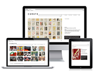 Curate, App & Web Interface