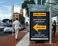 Bus Shelter Side Panel Outdoor Advertising Design