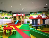 Kids Corner in Serdika Mall, Sofia