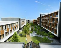 Student Dormitories concept in Sofia