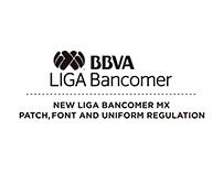 New Liga Bancomer MX patch, font and uniform regulation