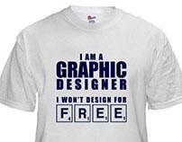 I AM A GRAPHIC DESIGNER-T SHIRT