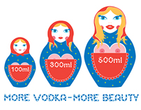 """MORE VODKA"" PRINT"