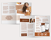 Tan Product Marketing Material