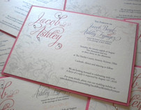 Ashley's Wedding Invitations