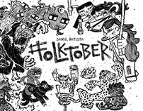 #Folktober - Inktober 2017