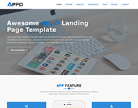 AppD-Apps Landing Page Template