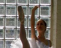 Sunlit Ballerina Photography