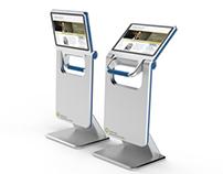 Touchscreen Media Kiosk