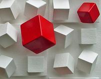 CUBOS EM QUADRADOS II  (Cubes into squares II)