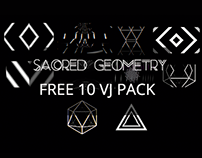 Free VJ Loops - Sacred Geometry Pack