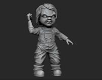 Chucky Figurine - 3D Printing