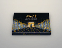 Lindt Champs-Élysées Chocolate Package Design