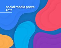 Muoversi in Toscana Social media posts 2017