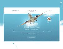 Дизайн сайта: Business Aviation