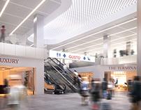 Linate airport in Milan
