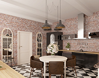 kitchen interior design project