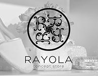 RAYOLA concept store Branding