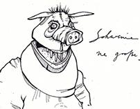 Sketchbook summer 2012 - Part One