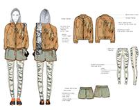 Chameleon - Sportswear Design