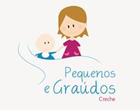 Logo and Design proposal website for a kindergarden