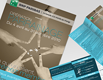 BNP Paribas / Campagne Parrainage