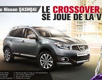 NISSAN / Campagne Qashqai
