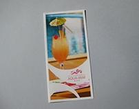 Flyer for Aqua-Mar Hotel